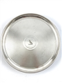 Antique Silverplated Engine-Turned Salver 1866