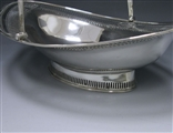 Antique Silver George III Cake Basket made in 1789
