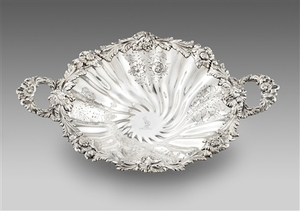 Antique Silver Dish made in 1833