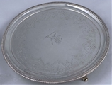 Antique Silver George III Salver made in 1808