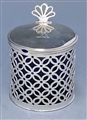 Antique Silver George III Mustard Pot made in 1781