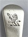 Antique Hallmarked Sterling Silver George III Old English Pattern Teaspoon 1819