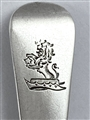 Antique Exeter Pair Exeter Hallmarked Sterling Silver George III Old English Pattern Teaspoon 1812