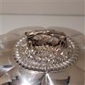 Early 19th Century Antique George IV Sterling Silver Venison Dish & Cover London 1824 John Bridge