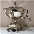 Early 19th Century Antique George III Sterling Silver Tea Urn London 1813 Paul Storr
