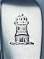 Anique Irish Hallmarked Sterling Silver Victorian Fiddle Pattern Teaspoon 1865