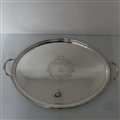 Geo III/19th Century Silver Tray London 1800 Solomon Hougham