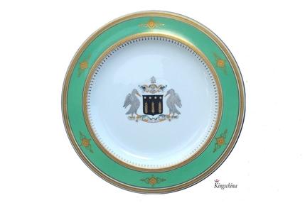 English Armorial Plate NAWAB OF BAHAWALPUR 1877