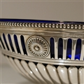 18th Century Antique George III Sterling Oval Silver Dish London 1778 Thomas Pitts