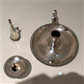 19th Century Antique Victorian Sterling Silver Chamberstick London 1882 James Garrard