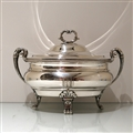 Early 19th Century Antique George III Sterling Silver Tureen Suite London 1800 Paul Storr