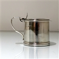 19th Century Antique William IV Antique Sterling Silver Mustard Pot London 1833 Jonathan Hayne