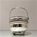Early 19th Century Antique George III Sterling Silver Double Tea Caddy London 1808 Rebecca Emes & Edward Barnard