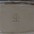 Early 18th Century Antique George I Sterling Silver Spoon Tray London 1720 Richard Watts
