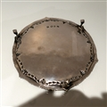 18th Century Antique George III Sterling Silver Salver London 1772 John Carter