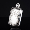 Rare Silver Hip Flask