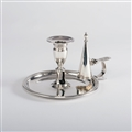George III Silver Chamber Candlestick