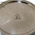 Mid 18th Century Antique George II Sterling Silver Silver Pair Tazzas Dublin Circa 1740 Barth Mosse
