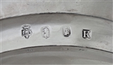 Super pair armorial George I Britannia silver plates London 1725 Paul De Lamerie