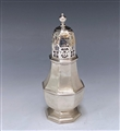 Antique Silver George I Sugar Caster made in 1717