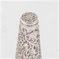 Rare Silver Picnic Condiment Set