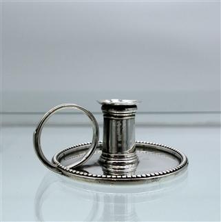 George III Sterling Silver Chamberstick