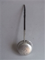 GEORGE III TODDY LADLE MADE IN EDINBURGH IN 1795 BY ALEXANDER ZIEGLER