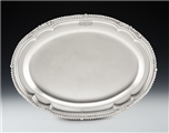 An Extremely Fine George Iv Meat Dish/serving Platter Made in London in 1825 by Richard Sibley.