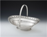 An Extremely Fine & Rare George Iii Bread Basket Made in Dublin in 1798 by Gustavus Byrne.