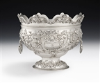 The Guinness Family Monteith. A Highly Important Early George Iii Rococo Style Monteith Bowl Made in London in 1768 by Francis Crump.