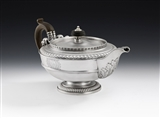 An Extremely Fine & Unusual George Iii Teapot Made in London in 1810 by Paul Storr