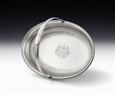 The Apley Castle Basket. An Important & Sunstantial George Iii Bread/fruit Basket Made in London in 1803 by Richard Cooke