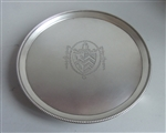 A Very Fine George Iii Salver Made in London in 1782 by Thomas Hannam & John Crouch I
