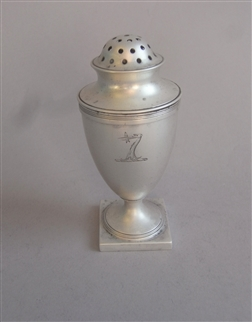 A George III Cayenne Pepper Caster Made in London in 1798 by Robert & David Hennell