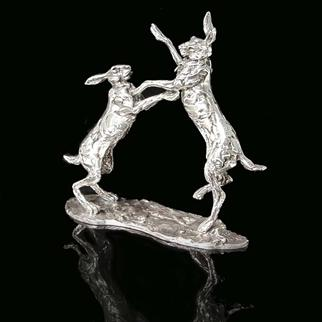 SILVER BOXING HARES