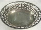 Austrian Silver Fruit Basket / Bowl