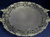 English, Sterling Silver 2 Handled Pedestal Dish