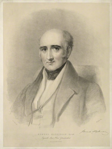 Edmund Hopkinson printed by Maxim Gauci, after Eden Upton Eddis