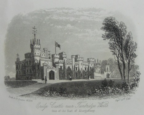 Eldridge Park, near Tunbridge Wells, circA 1840, seat of the earl of Abergavenny