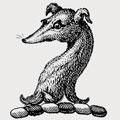 Fuller family crest, coat of arms