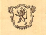 A late 18th century armorial bookplate