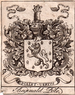 An early 18th century bookplate for Pole