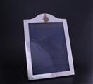 A George V sterling silver regimental photograph frame