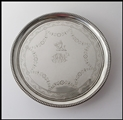 An 18C Georgian Irish Silver Card Tray /Salver  by Joseph Jackson