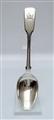 Antique Victorian Sterling Silver Fiddle Pattern Teaspoon, 1853