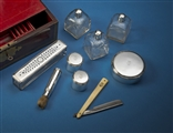 Naval Interest: Rare George III Royal Navy officer's seagoing silver dressing set