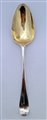 Antique George III Sterling Silver Hallmarked  Hanoverian Pattern Tablespoon 1779