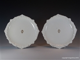 Cauldon Armorial Porcelain Plates PRINCESS LOUISE DUCHESS OF ARGYLL Viceregal of Canada