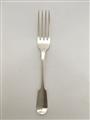 Antique Sterling Silver William IV Fiddle pattern Dessert Fork 1836