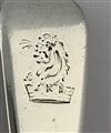 Antique Sterling Silver Hallmarked George III Fiddle Pattern Salt Spoon 1811